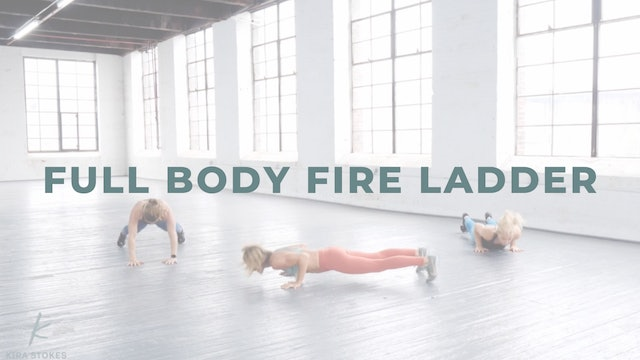 Full Body FIRE Ladder (Bodyweight Strength + Cardio)