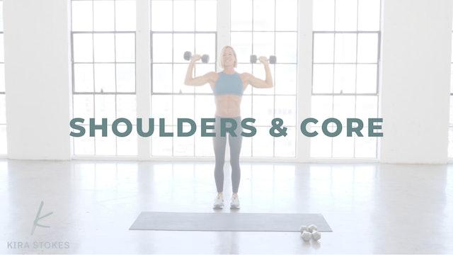Shoulders & Core (Strength)
