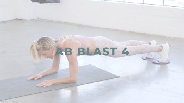 Ab Blast 4 *Gliders* (Endurance Stren...