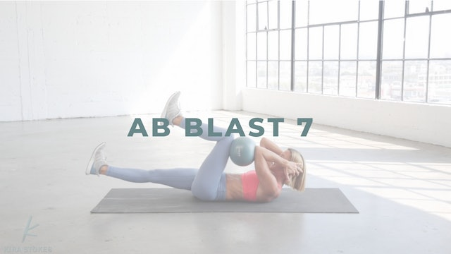 Ab Blast 7 *Oblique Focused/Stoked Ball* (Endurance Strength)