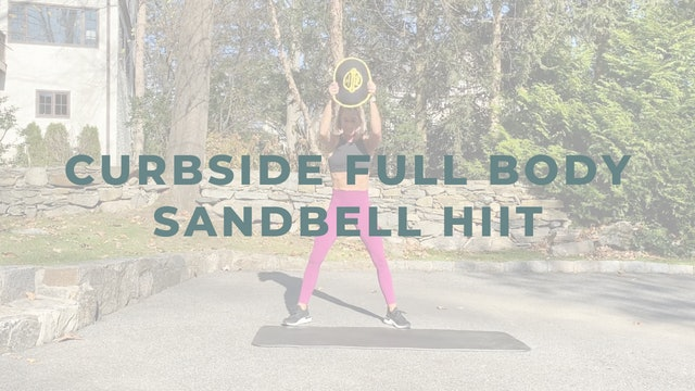 Curbside Full Body Sandbell HIIT