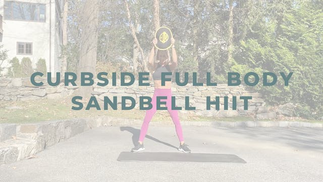 Curbside Full Body Sandbell HIIT