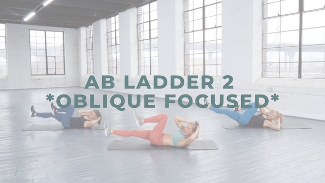 Ab Ladder 2 *Oblique Focused* (Bodyweight Strength)