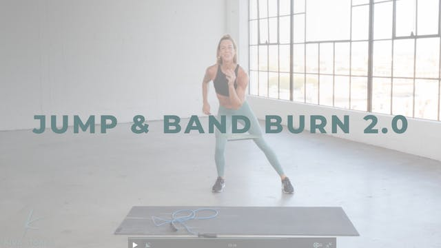 Jump & Band Burn 2.0 (Cardio + Endura...