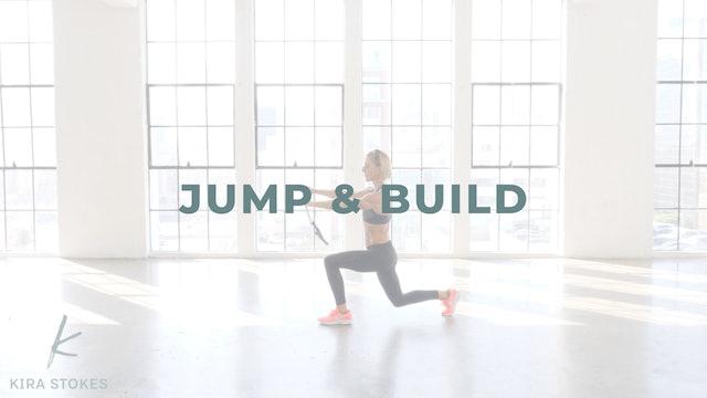 Jump & Build (Strength + Cardio)