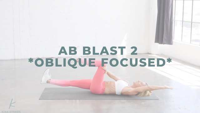 Ab Blast 2 *Oblique Focused* (Endurance Strength)