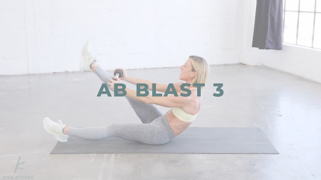 Ab Blast 3 *Weighted* (Endurance Strength)