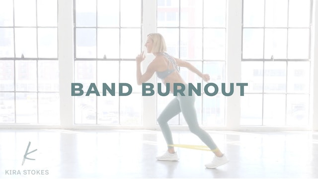 Band Burnout (Endurance Strength)