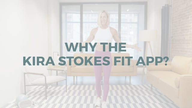 Why the Kira Stokes Fit App?