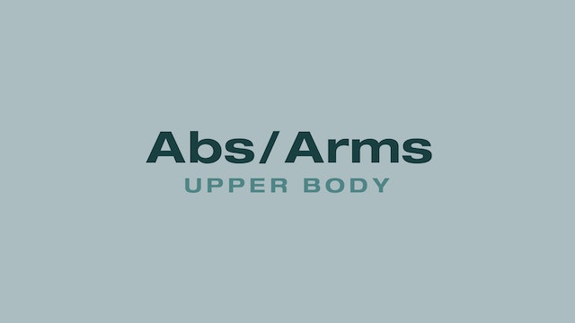 Abs/Arms (Upper Body)