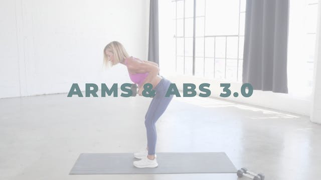 Arms & Abs 3.0 (Strength)