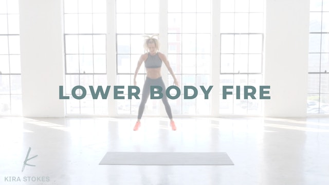 Lower Body Fire (Cardio)