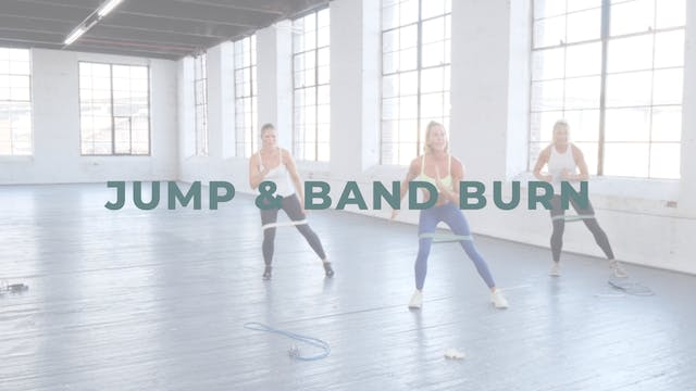 Jump & Band Burn (Cardio + Endurance ...