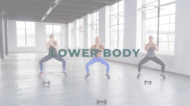 Lower Body (Strength + Cardio)
