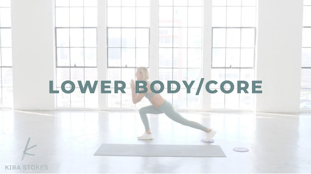 Lower Body/Core *Gliders* (Strength)
