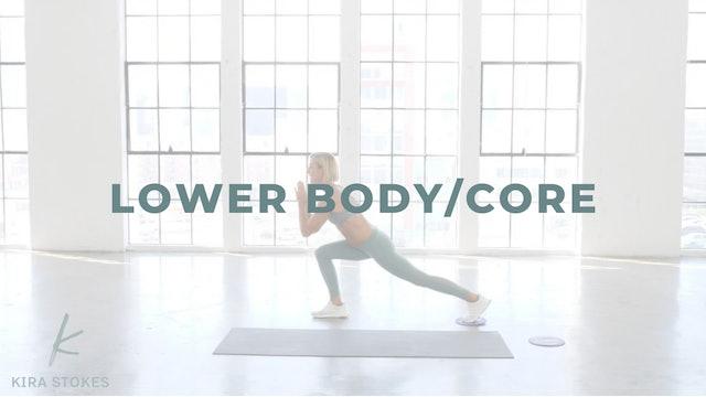 Lower Body/Core *Gliders* (Strength)