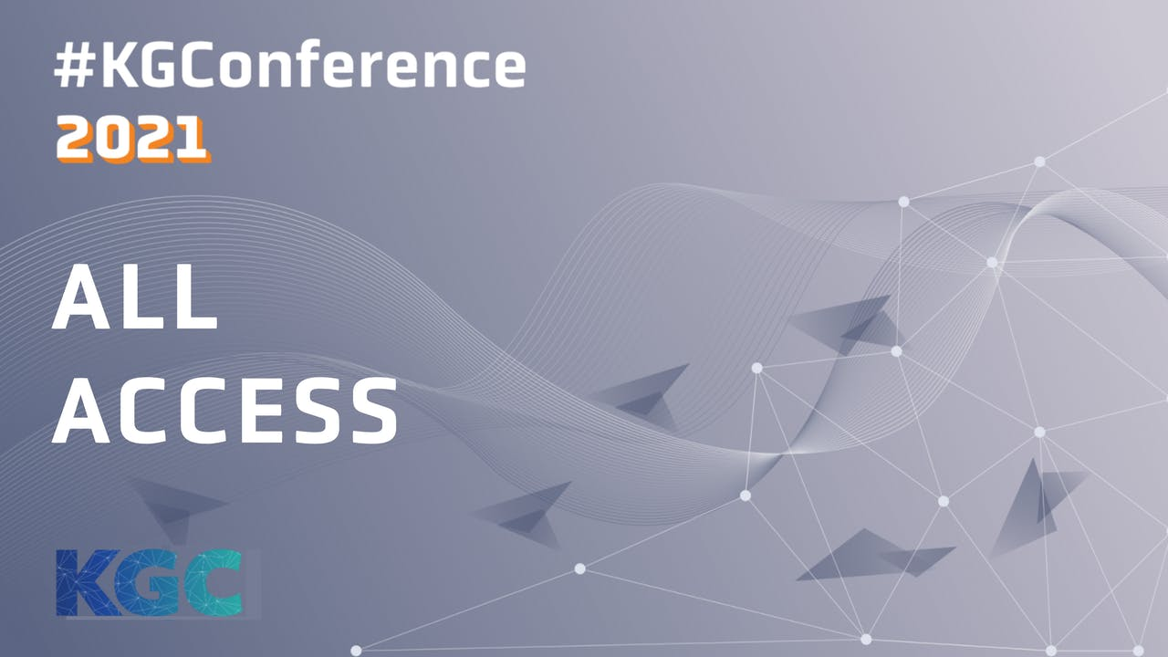 KGC 2021 Conference, Workshops and Tutorials