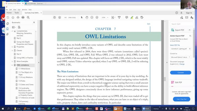 Book Club | Demystifying OWL for the ...