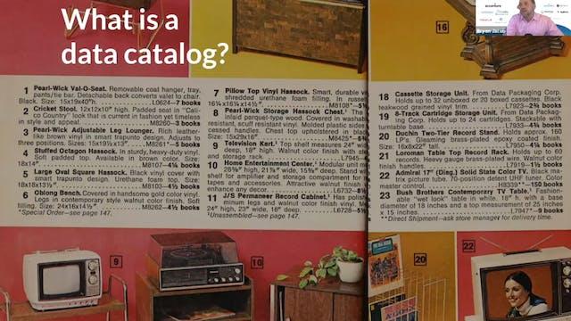 A Data Catalog Should be Your Organiz...