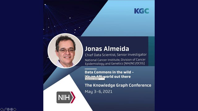 Jonas Almeida | Data Commons In The W...