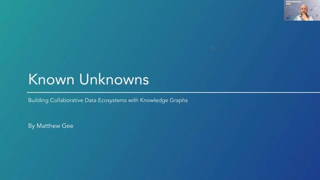 Matt Gee | Known Unknowns: Promoting ...