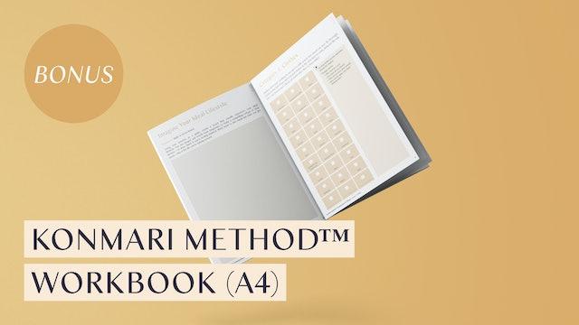 KonMari Method™ Workbook (A4)