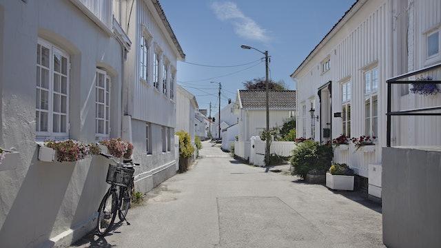 A stroll through Grimstad