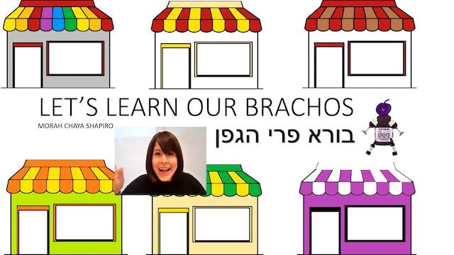 Let's Learn Our Brachos: Hagafen