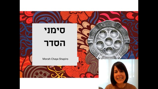 Morah Chaya - All About The Pesach Se...
