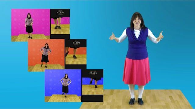 Rebbetzin Tap Bonus Dance Instruction