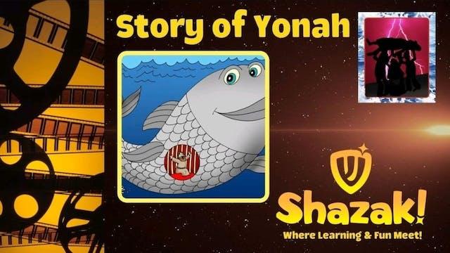 Shazak! Yom Kippur: The Story of Yonah