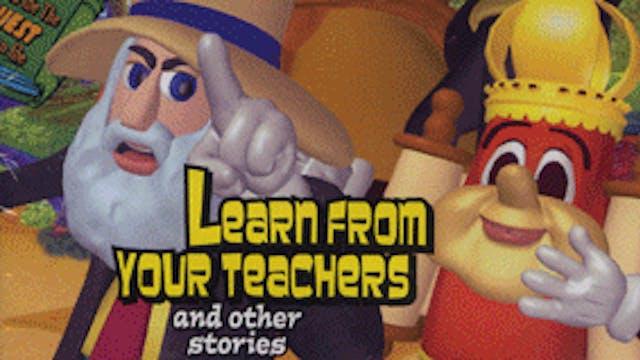 Torah Tots - Learn From Your Teachers