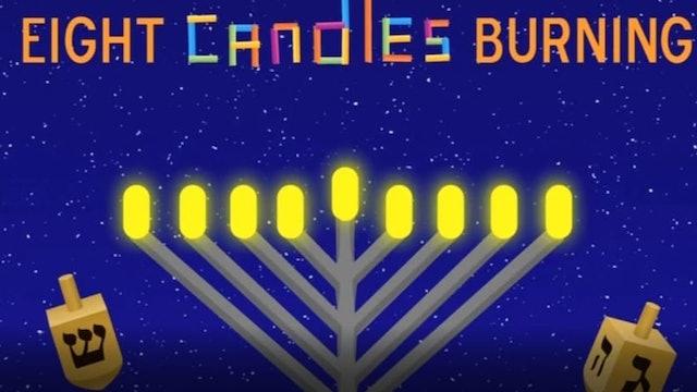 Morah Leah Eight Candles Burning