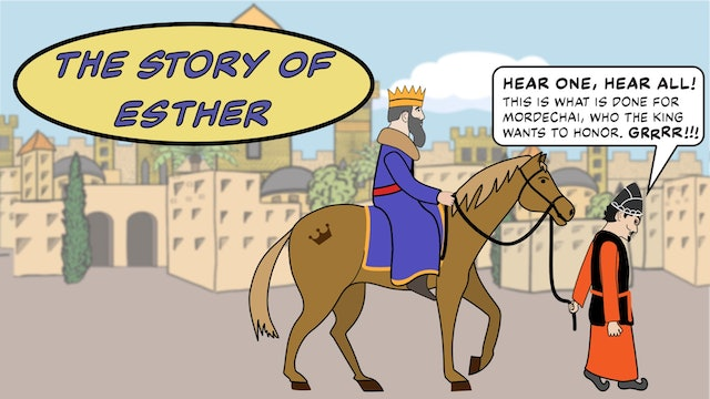 The Purim Story: Comic Book Style!
