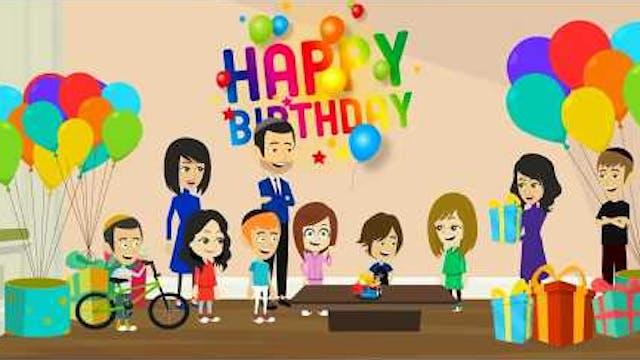 Rabbi Jake Happy Birthday