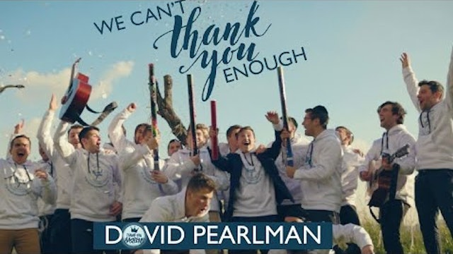 Dovid Pearlman We Can't Thank You Enough