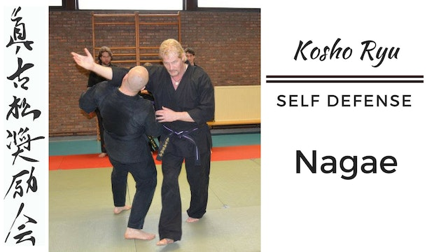 Self Defense - Nagae