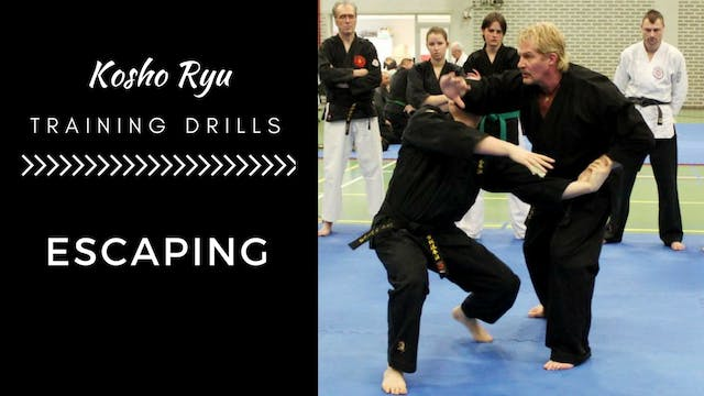 Training Drills for Escaping and Repositioning