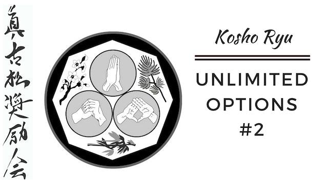 Unlimited options of Kosho Ryu #2