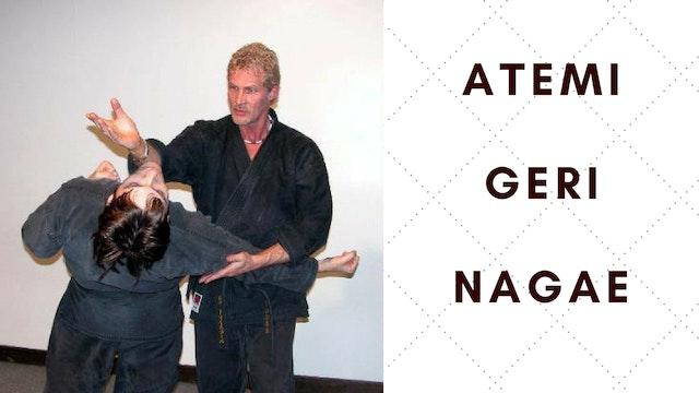 Atemi, Geri and Nagae