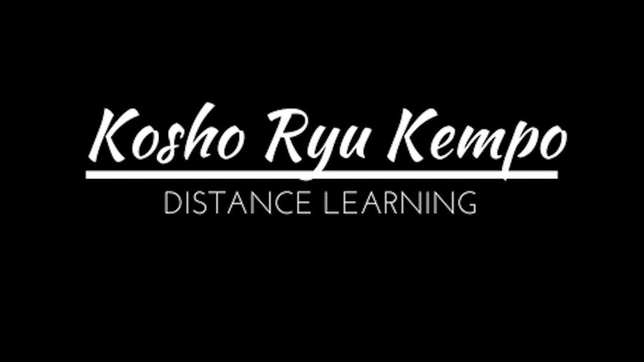 Kosho Ryu Distance Learning