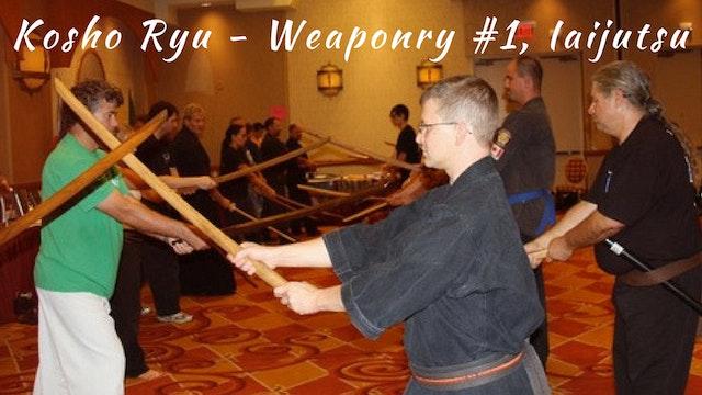 Weaponry #1 Iaijutsu