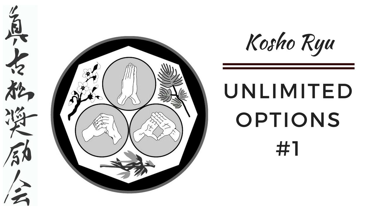 Unlimited Options of Kosho Ryu