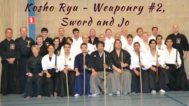 Weaponry #2 Sword and Jo