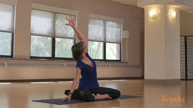 Yoga Class to Release Stress