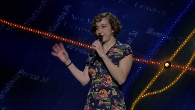 Kristen's Performance on John Oliver's New York Stand-Up Show