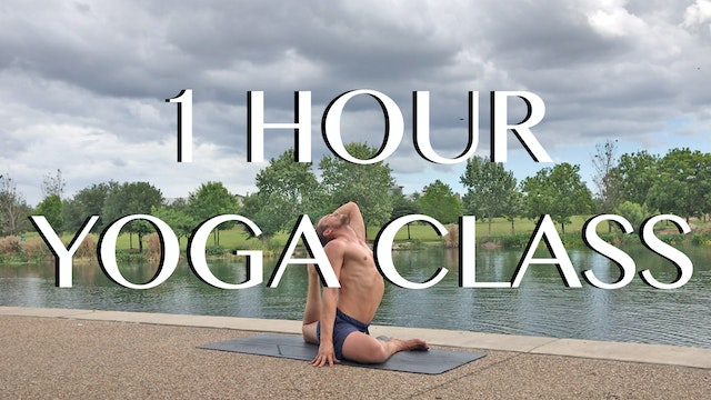 All Level Yoga Class - 1 Hour Vinyasa -