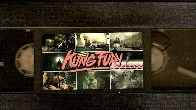 The Kung Fury VHS-Look