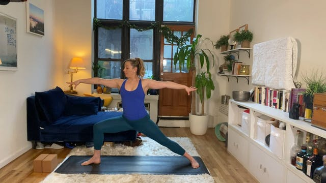 10 Minute Standing Yoga Flow
