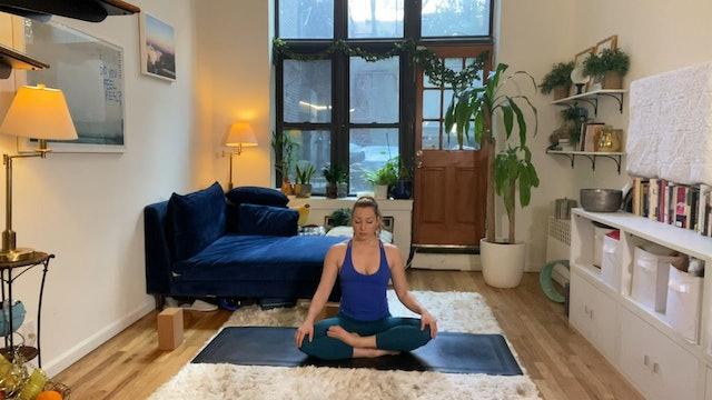 20 Minute Beginner Yoga